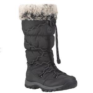 Timberland Black Snow boots